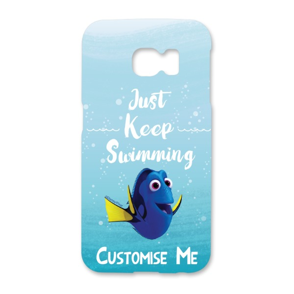 Disney Finding Dory 'Just Keep Swimming' Samsung Galaxy S6 Edge Phone Case