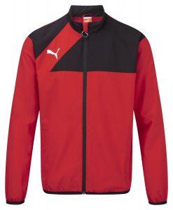 Puma Esquadra Leisure Jacket-Red/Black