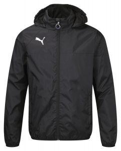 Puma Esquadra Rain Jacket - Black-White