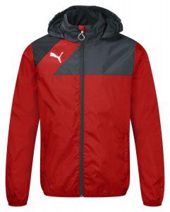 Puma Esquadra Rain Jacket - Red-Black