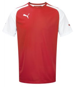 Puma Speed S/S Shirt - Red-White