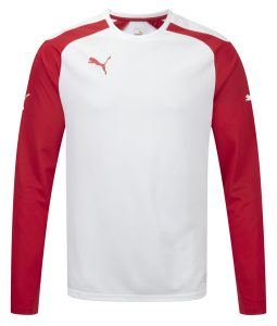 Puma Speed L/S Shirt - White-Red