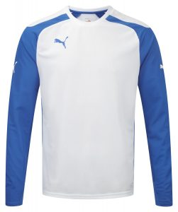 Puma Speed L/S Shirt - White-Roya