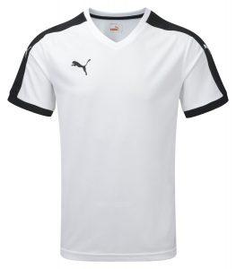 Puma Pitch S/S Shirt-White/Black
