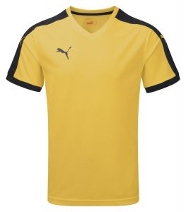 Puma Pitch S/S Shirt-Yellow/Black