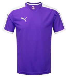 Puma Pitch S/S Shirt-Purple/White