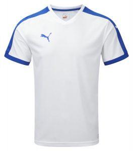 Puma Pitch S/S Shirt-White/Royal