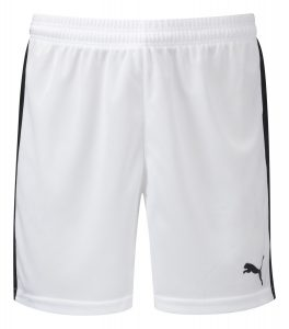 Puma Pitch Shorts-White/Black