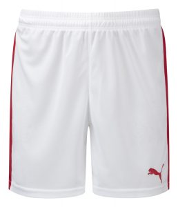 Puma Pitch Shorts-White/Red