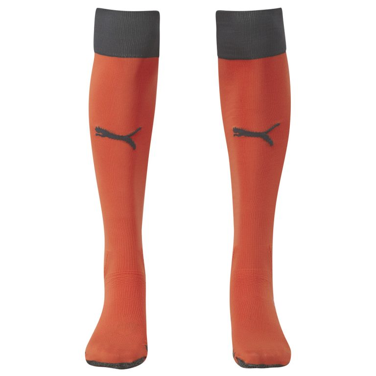 Puma Finale Socks-Orange/Ebony 1