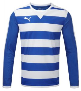 Puma Hoop L/S Shirt -Royal/White