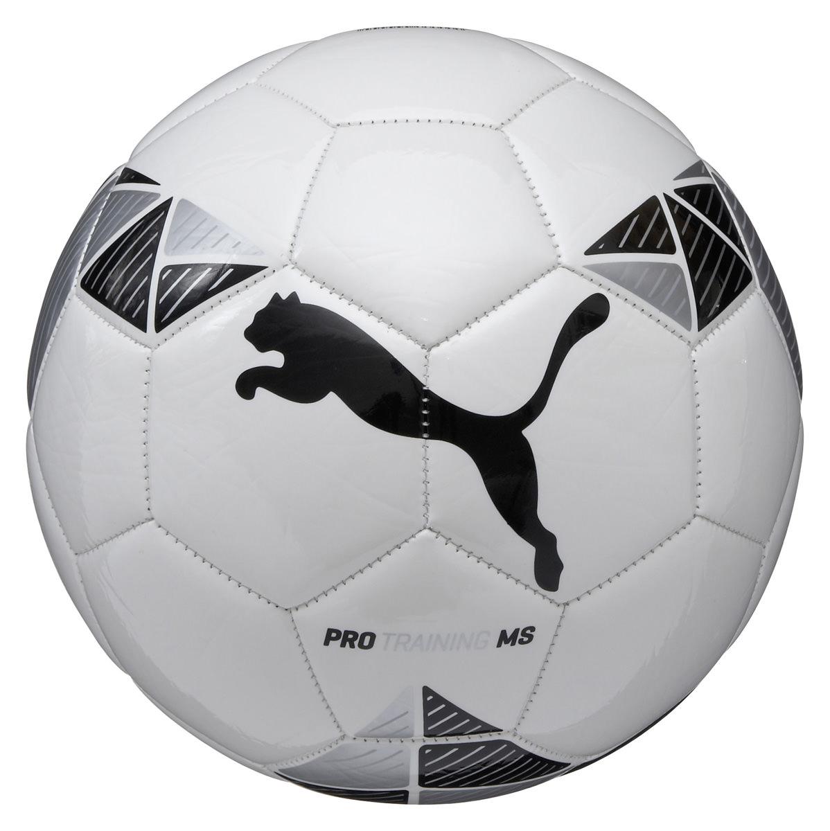 Puma Pro Training MS Football - White-Black