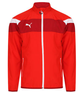 Puma Spirit II Woven Jacket - Red