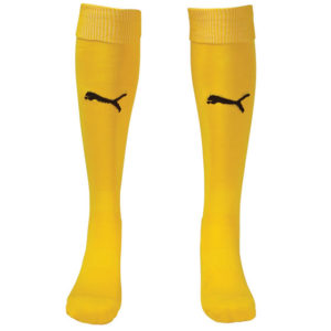 Puma Team II Sock - Yellow/Black