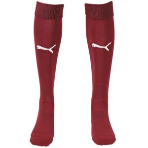 Puma Team II Sock - Burgundy/White