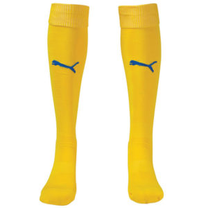 Puma Team II Sock - Yellow/Royal