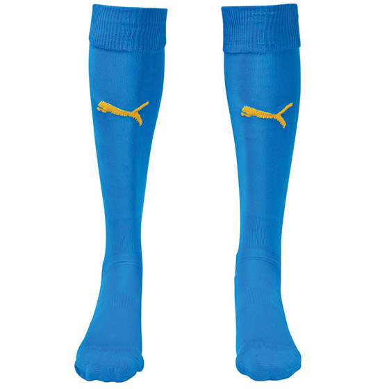 Puma Team II Sock - Royal/Yellow