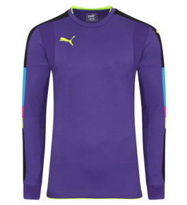 Puma Tournament GK Shirt - Violet/Yellow