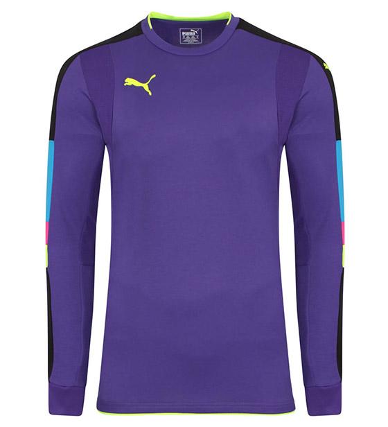 Puma Tournament GK Shirt - Violet/Yellow