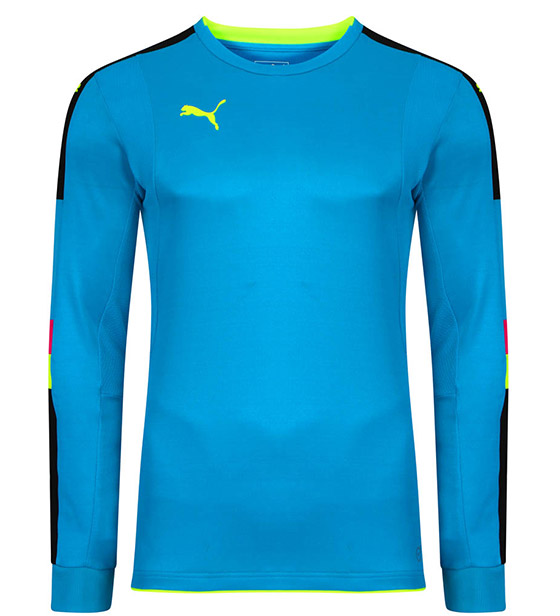 Puma Tournament GK Shirt - Blue/Yellow