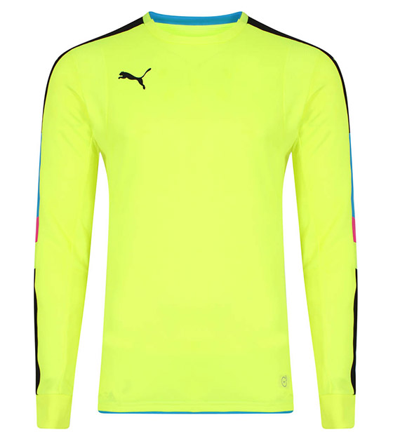 Puma Tournament GK Shirt - Yellow/Blue