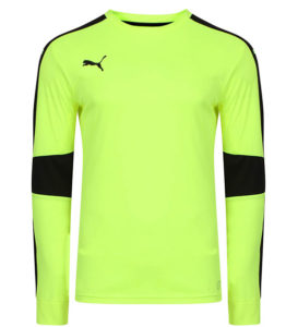 Puma Triumphant GK Shirt - Fluro Yellow