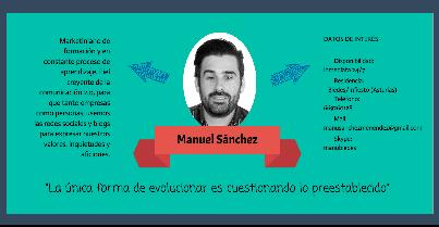 CV Community Manuel Sánchez