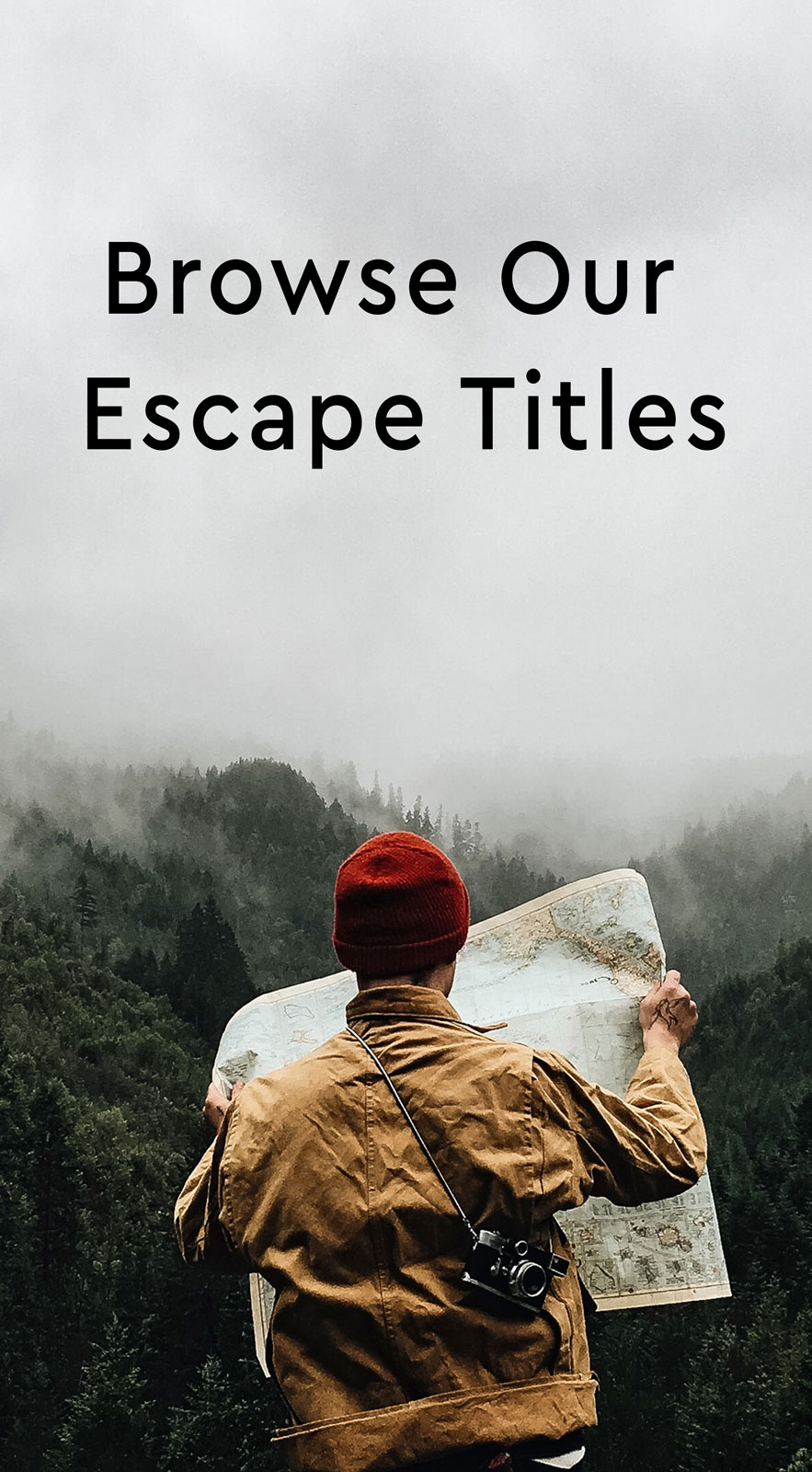Browse Our Escape Titles