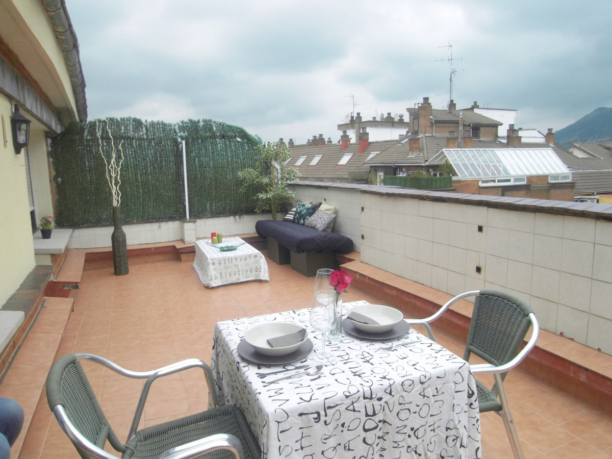 vallobin vivienda con terraza