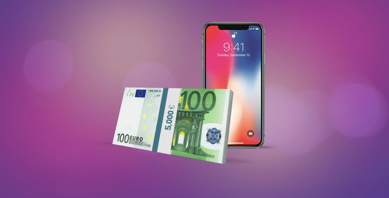 Iphone  Gewinn