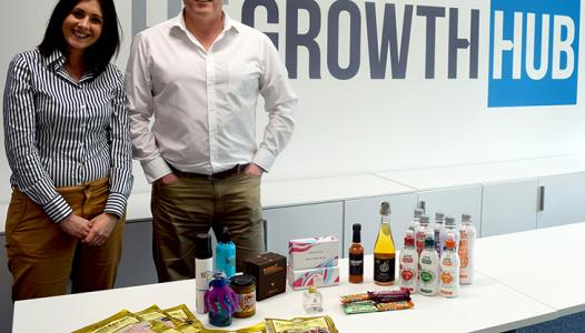 Local businesses pitch to British Corner Shop for export opportunity