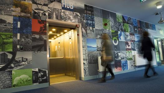 The Growth Hub entrance