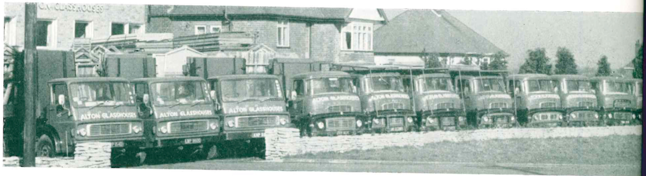 Old alton delivery trucks
