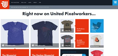 United Pixelworkers screenshot