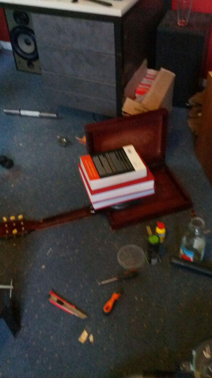 hoe maak je een <br> gitaar