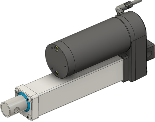 GLA750-P 250mm Stroke CAD Model