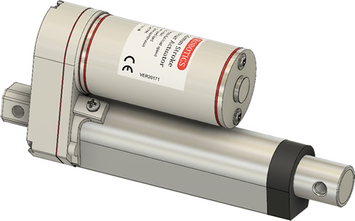 GLA750-P 250mm Stroke CAD Model