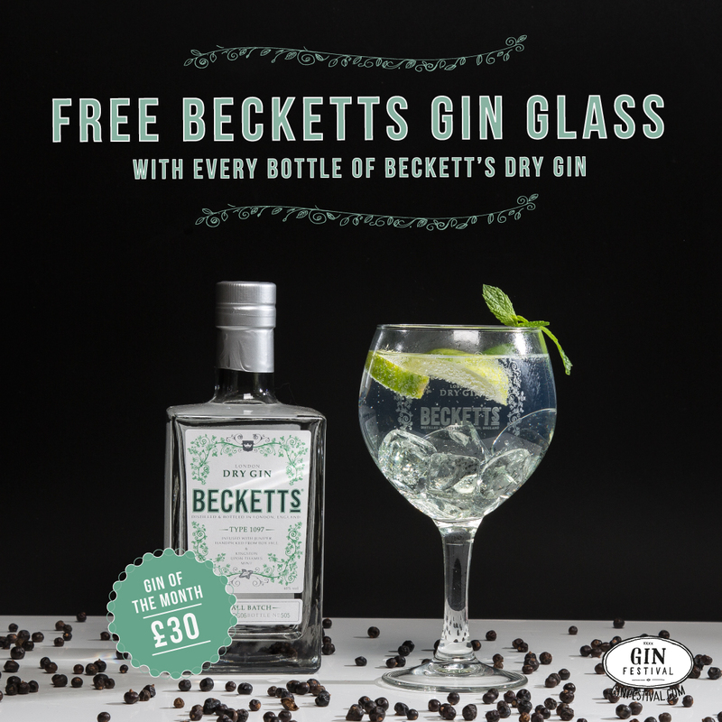 Becketts London Dry Gin of the Month