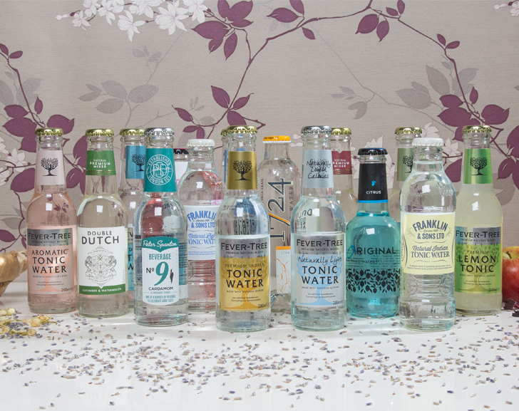 Selection of Tonic Waters