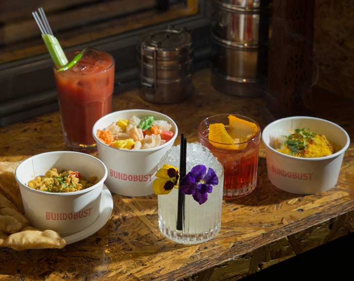 Indian Food and Cocktails from Bundobust
