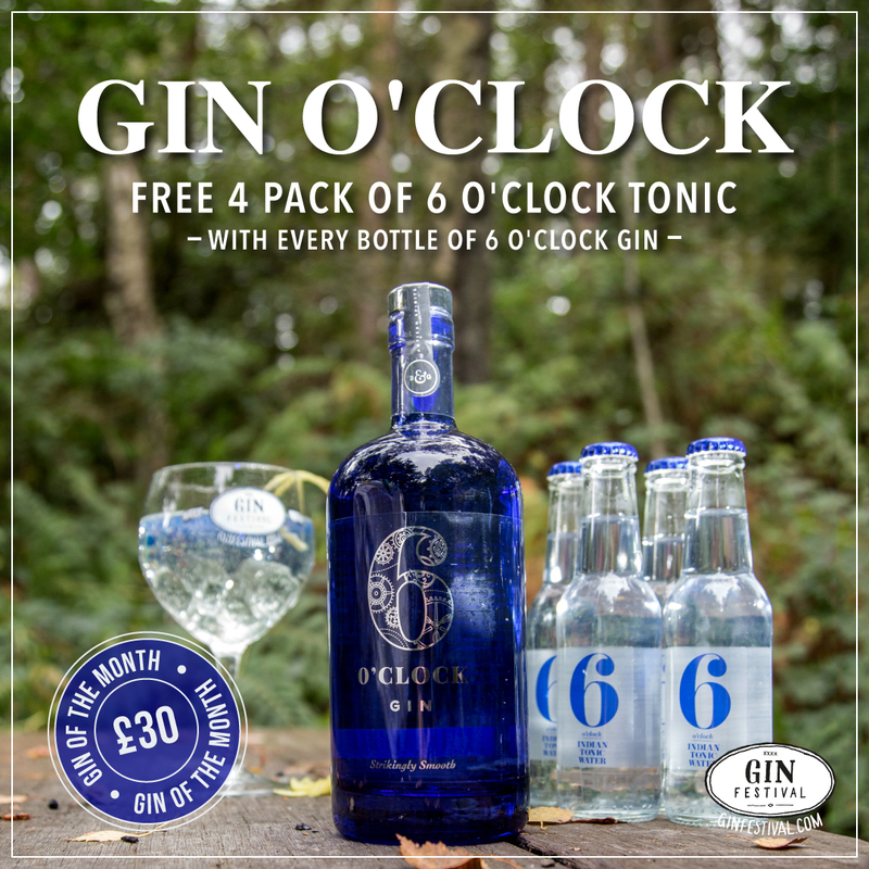 6 O'Clock Gin of the Month