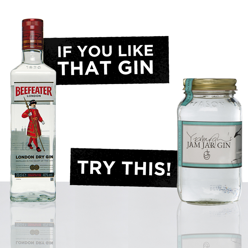 Beefeater and Yerburgh Jam Jar Gin