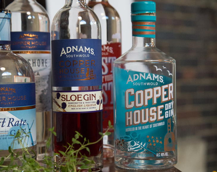 Adnams Copperhouse Gin