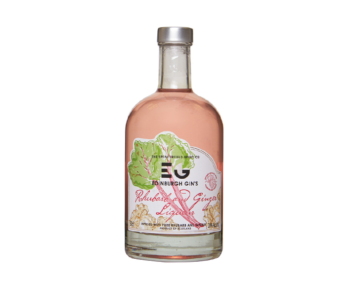 Edinburgh Rhubarb and Ginger Gin Liqueur