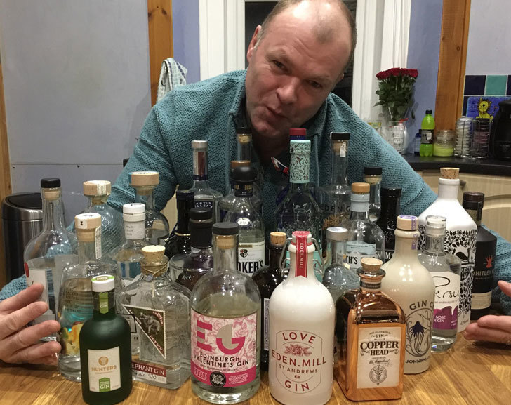 Brian Cormack Loves Gin