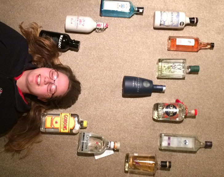 Sarah Jane Loves Gin