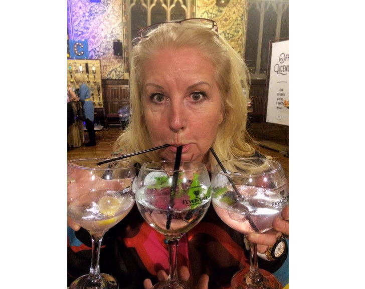 Julie Stanley Loves Gin