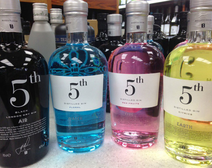 5th Gin Full Range