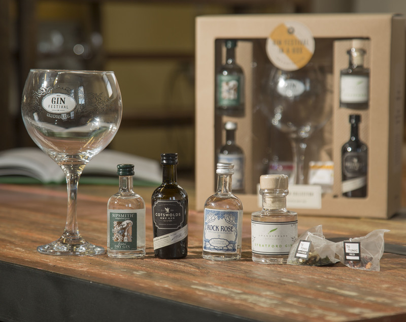 Gin Festival in a Box - The Craft Gin Collection