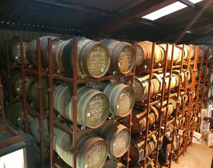 Dingle Whiskey Barrels